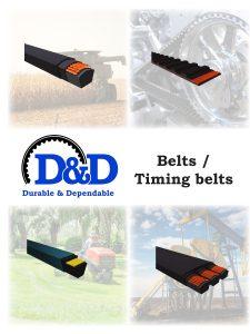 Product information Image | D&D Global | Power Drive Belts | V-Belts Time Belts | High Performance Belts
